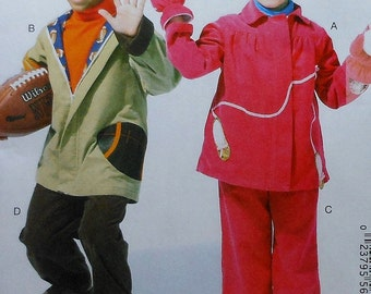 Childrens Jacket, Pants, and Mittens Sewing Pattern UNCUT McCalls M6637 Sizes 4-6