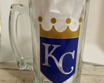 Kansas City Royals Glass Mug