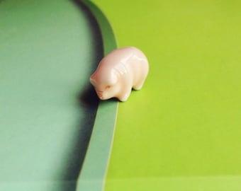 Miniature Pig,Miniature Piggy,Miniature Animal,Tiny Pig,Animal Miniature,Miniature Farm,Doll's house,Dolls and Miniature,Pig,Farm