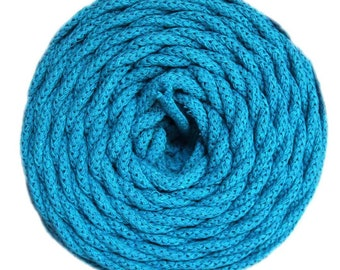 Cotton Air Turquoise 100% natural cotton