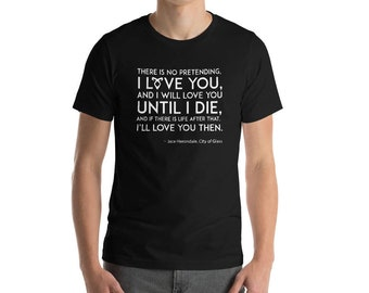 Shadowhunters Shirt, Jace Herondale, Clary Fairchild, Clace, Cassandra Clare, The Mortal Instruments