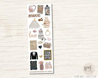 Wedding Decorative Stickers - DS03