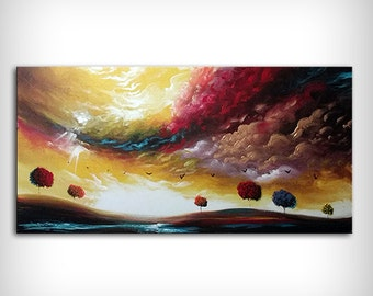 "Abstract painting, acrylic painting, best selling item, wall art, painting on canvas, original painting, best selling art 48"" top seller"