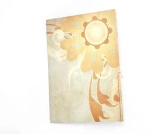 Steampunk Floral Junk Journal - Travel Journal - Handmade Blank Notebook - Scrapbook - Stitched Journal - Junk Journal Insert - Memory Book