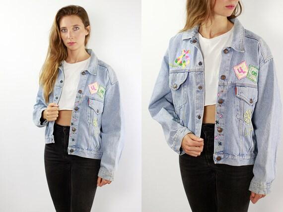 Denim Jacket Patch Denim Jacket Patches Jean Jacket Patch Jean Jacket Patches Vintage Denim Jacket Vintage Jean Jacket Blue Denim Jacket 90s