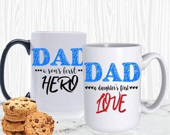 15oz Dad Mug, Fathers Day Mug, Coffee Mug, Fathers Day Gift