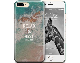 Relax and rest - Christian phone case for galaxy S8/S8+ and iPhone7/7+