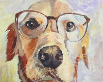 Pet Portraits ,Custom Painting