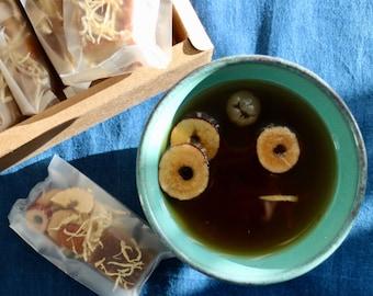 Herbal tea - longan ginger tea - 120g, 4.2oz