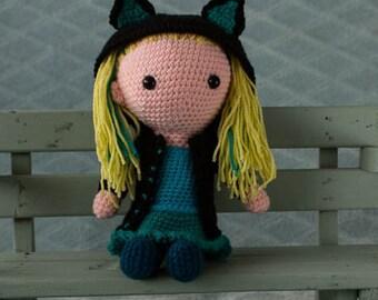 Handmade crochet cuddle toy