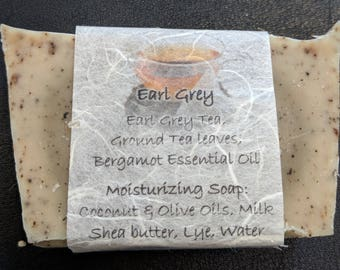 Earl Grey Moisturizing Soap