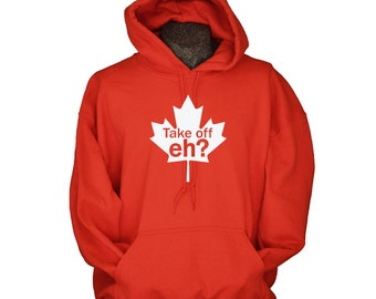 Canada Hoodie - Canadian Clothing - Hoodies for Men and Women - Funny Sweatshirts