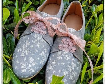 Women's Oxford shoes Handmade