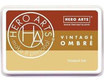Hero Arts Ombre Vintage Metallic Rust