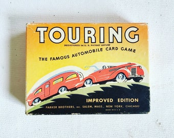 1937 Parker Brothers Touring Automobile Game