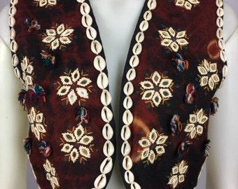 Shell Vintage Waistcoat