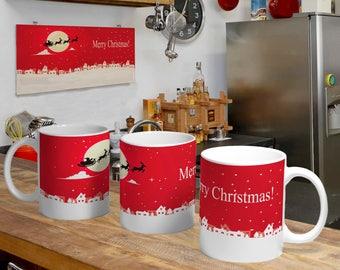 Christmas Digital Template Mug 3