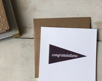 Simple Congratulations Card | Multi-occassion with typography design