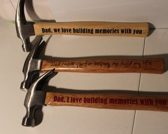 Customized Hammers! Great Father's Day Gift! Birthdays! Christmas!