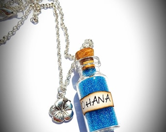 Disney Lilo and Stitch inspired necklace