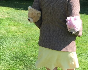 The pink and brown bear jacket!