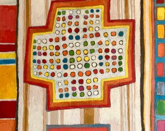 Candy Dot Cross