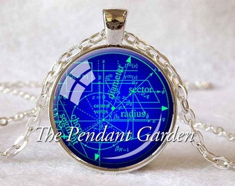 MATH EQUATIONS PENDANT  Mathematician Gift Science Geek Gift Math Jewelry Geometry Pendant Graduation Gift Algebra Pendant Math Teacher Gift