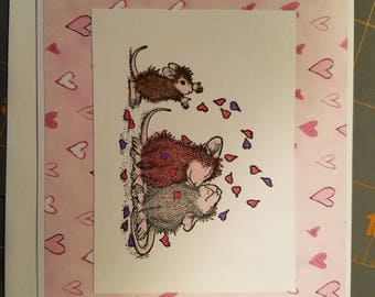 Set of 3 Valentine themed cards
