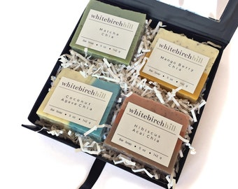 Bar Soap Gift Set - organic soap / mothers day soap set / soap variety pack