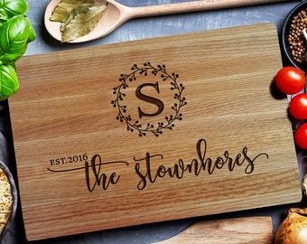 Personalized Cutting Board, Custom cutting  Boards, Board,  Housewarming Gift, Chopping Board, Cheese board (176 )