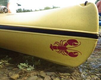 Homard, MEDIUM, Kayak Decal