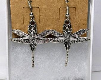 Simple Dragonfly Earrings