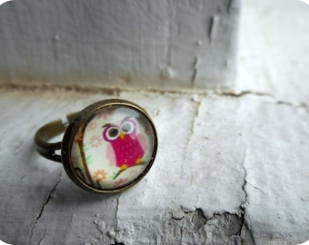 The Little Sassy Pink Ring.
