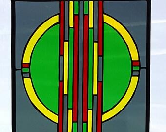 Circle in Green 1