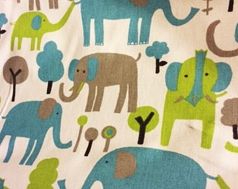 Trunk Tales Elephants fabric |  Premier Prints fabric