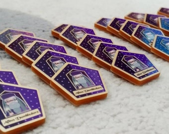 Chocolate Frog needle minder - cross stitch accessory