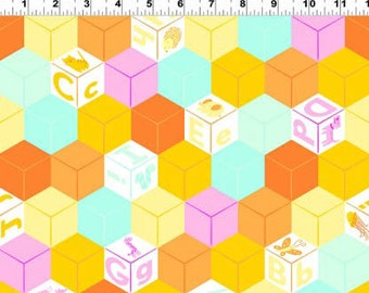 SALE - Animal ABCs ORGANIC Geo from Clothworks