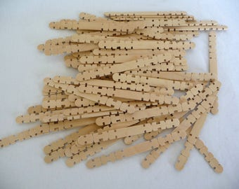 Wooden Skill Sticks, Craft Supplies, Wood Sticks, Art Supplies, Forster Building Sticks, Woodcraft, Unique Sticks, Snap Apart, Wooden Sticks