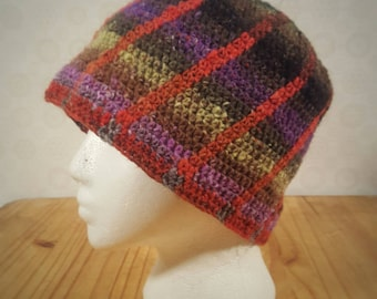 Men's / Women's Wool Spiral Beanie Adult Large
