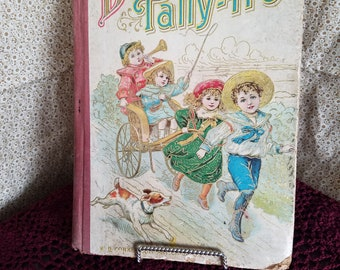 Driving the Tally Ho  vintage childrens book
