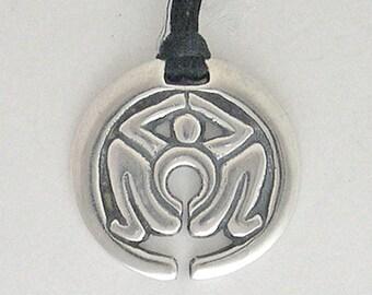 Receptivity Pendant-Sterling Silver