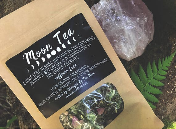MOON TEA :: Wombyn's Supportive Herbal Blend