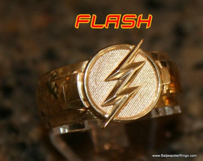 Custom Flash T.V. Inspired  Flash Ring