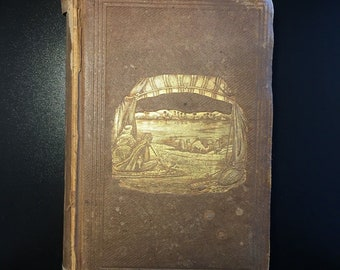 Journey to Central Africa, Bayard Taylor, 10th Ed., Richly Illustrated, 1854