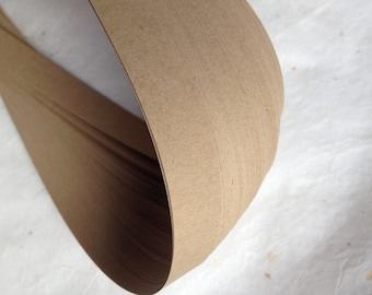 "Clearance* Kraft Brown Paper Bag~ 5/8"" Moravian German Froebel Star Paper (52 strips)"