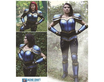 Simplicity Pattern 8630 Misses' Cosplay Armor Size 6-14