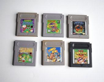 Take Your Pick! 30+ Original Nintendo Game Boy Games To Choose From
