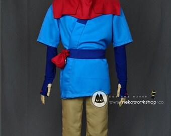 Princess Mononoke - Ashitaka Cosplay Costume