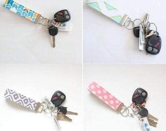 Fabric Keychain Set of 10 Wholesale