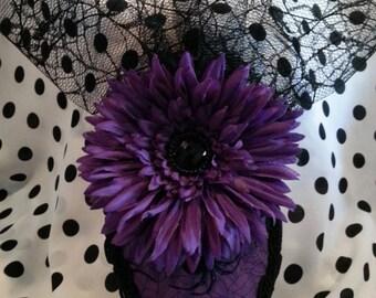 Halloween Teardrop Hat (Spiders & Spider Webs)